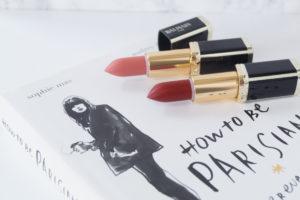 Balmain x L'Oreal Paris lipsticks