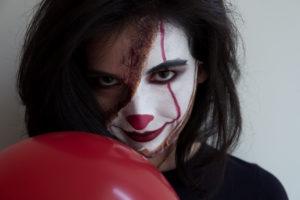 Halloween Creepy Clown makeup