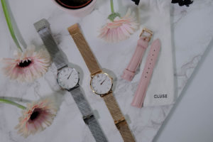 My Cluse watches collection
