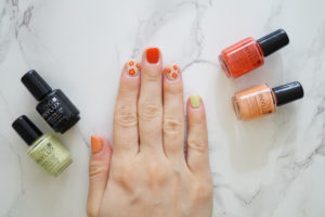 Nails of the day – Spring flowers